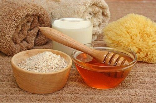 Скраб из меда и соли для тела