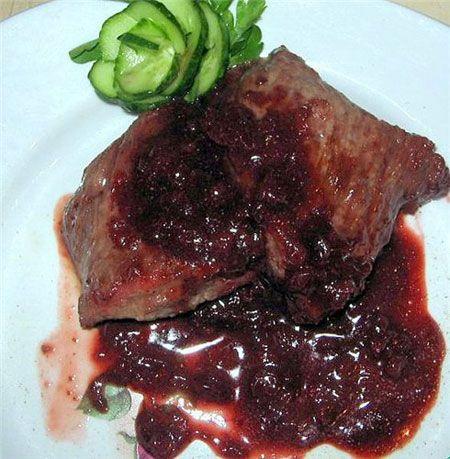 Соус брусничный к мясу