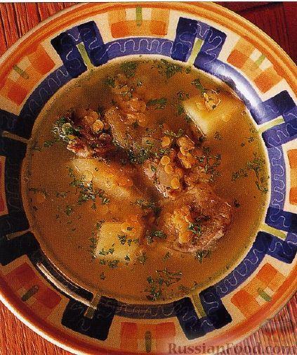 Суп из баранины рецепт