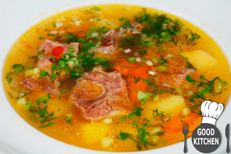 Какой суп приготовить из говядины с фото