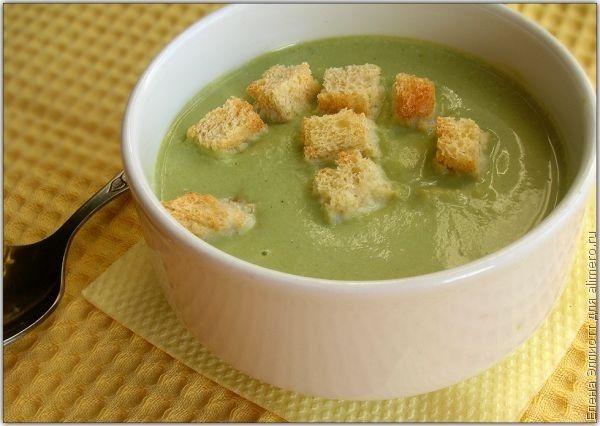 Суп пюре из цукини