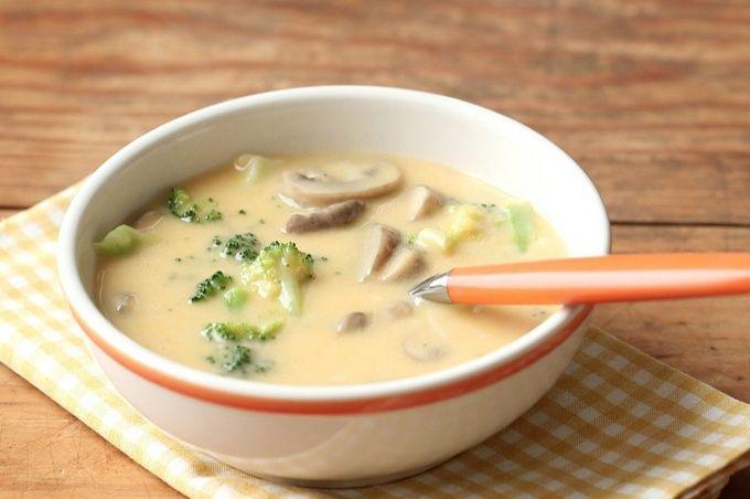 Сырный суп с грибами рецепт