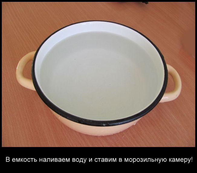 Талая вода приготовление в домашних условиях