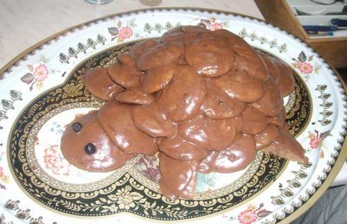 Торт черепашка рецепт с пошаговым фото со сгущенкой