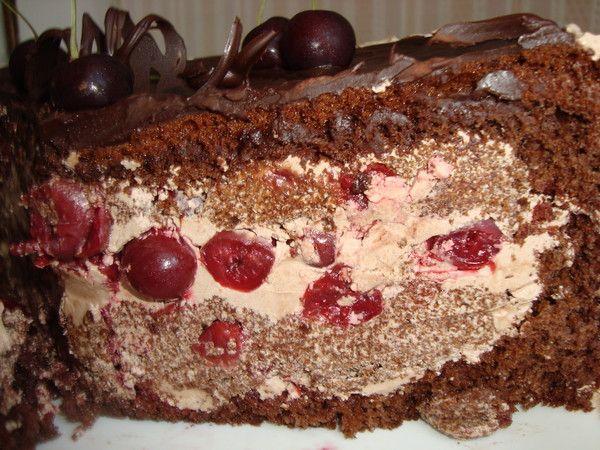 торт пьяная вишня правильное питание рецеп
