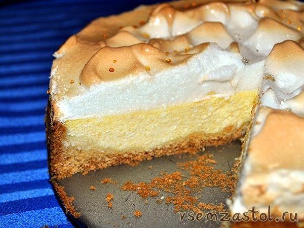 Творожный торт слезы ангела