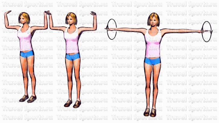 Убрать жир с рук упражнения