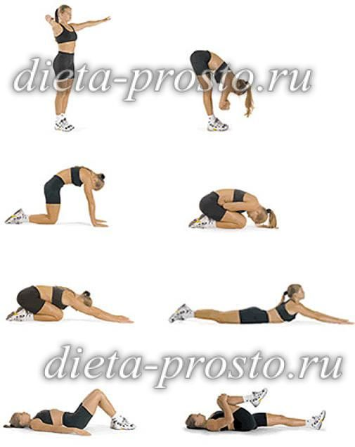 Упражнения чтоб убрать живот и бока