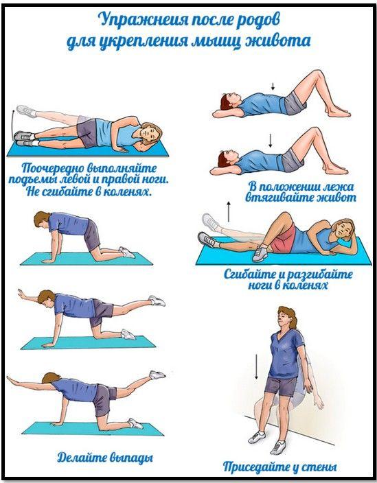 Упражнения чтобы убрать живот