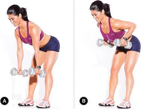 Упражнения для подтяжки спины