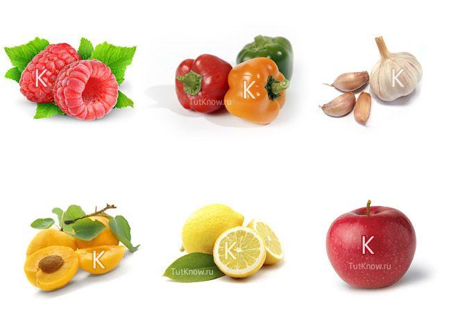 Витамин р в каких продуктах содержится