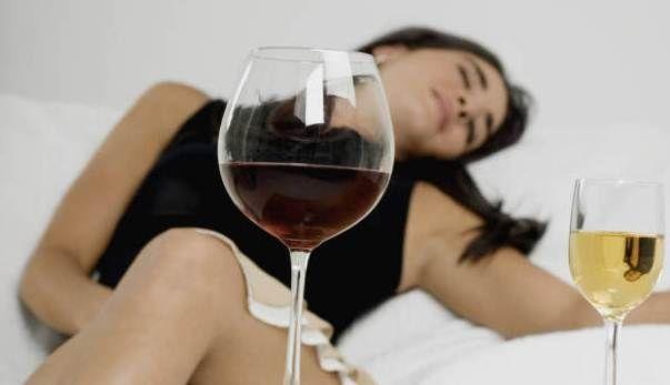 Влияние алкоголя на женский организм
