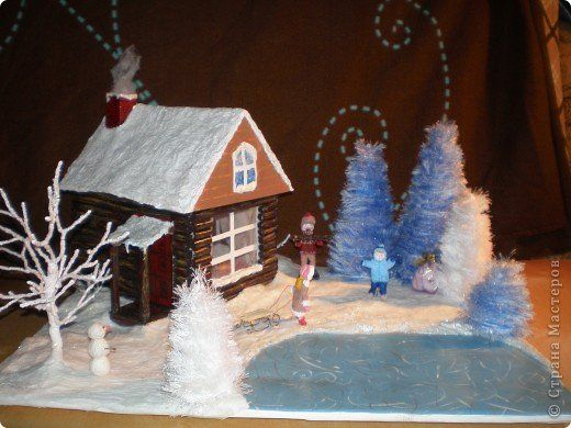 Зимние поделки своими руками для детского сада