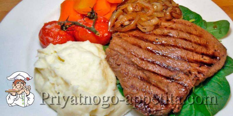 Антрекот из говядины рецепт
