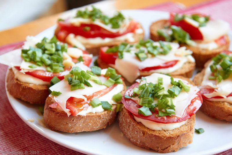 Бутерброды для праздничного стола
