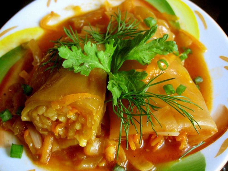 Голубцы овощные рецепт