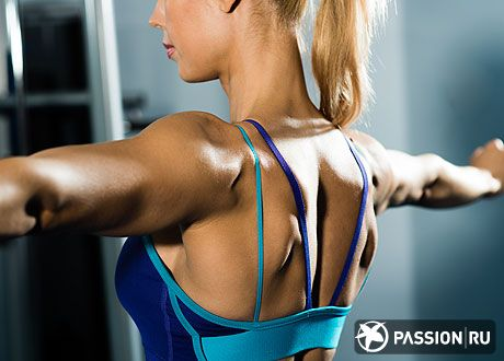 Как убрать жир на спине