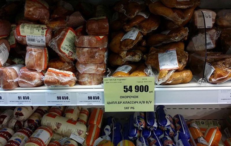 Какие цены в белоруссии на продукты