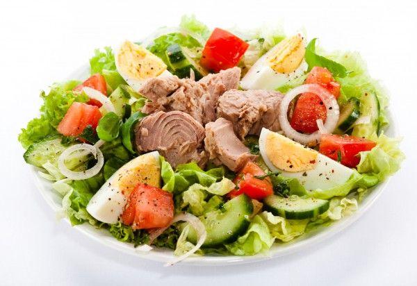 Летний салат рецепт