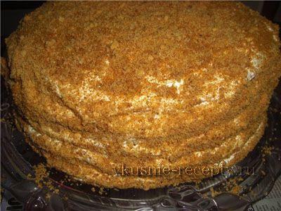 Медовый торт в домашних условиях