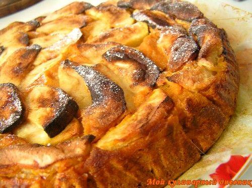Пирог с тыквой и яблоками