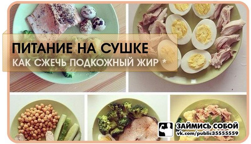 Продукты На Сушке При Похудении. Диета для сушки тела — топ продуктов питания