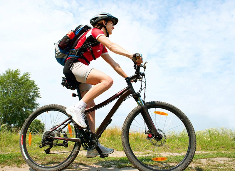 Реально сбросить вес катаясь на велосипеде