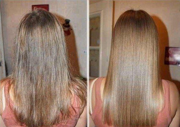 Секутся волосы по всей длине