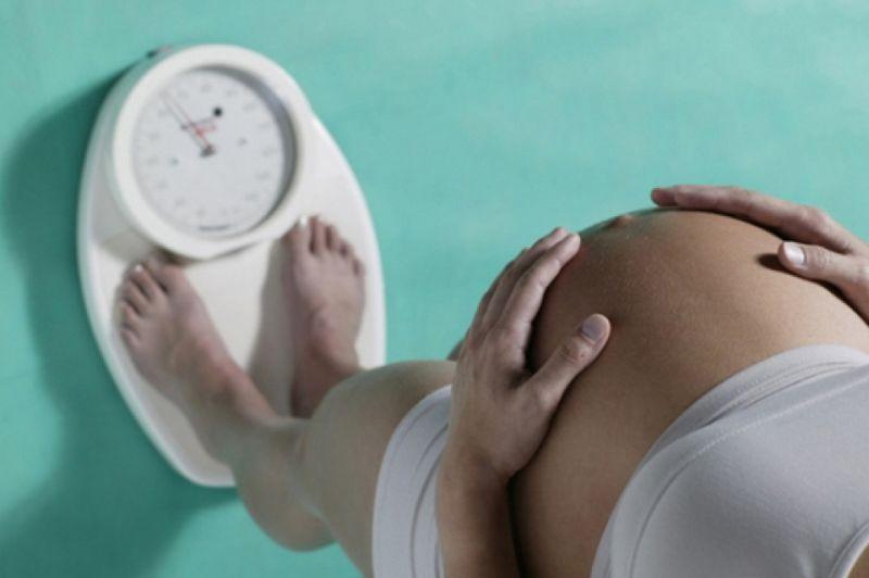 Снижение веса при беременности