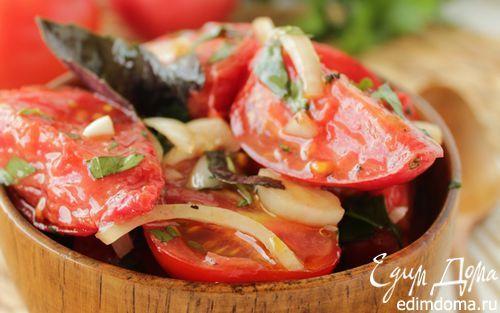Соленые помидоры быстрого приготовления