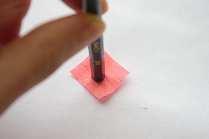 Техника торцевания из бумаги