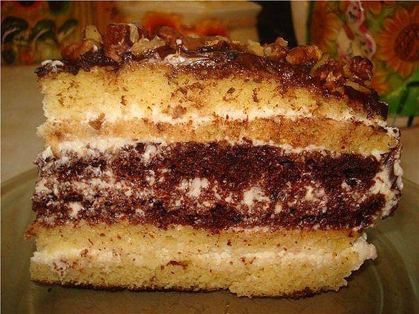 Торт сметанник в мультиварке