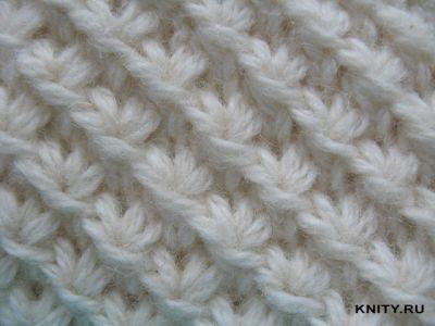 Вязание спицами узоры для начинающих